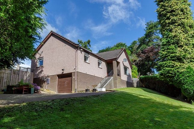 Thumbnail Detached bungalow for sale in Valleyfield View, Penicuik