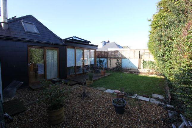 Rear Garden of Lon Cefn Mably, Rhoose, Barry CF62