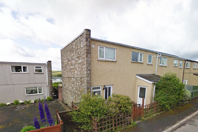 Thumbnail End terrace house to rent in Heol Ganol, Brynmawr