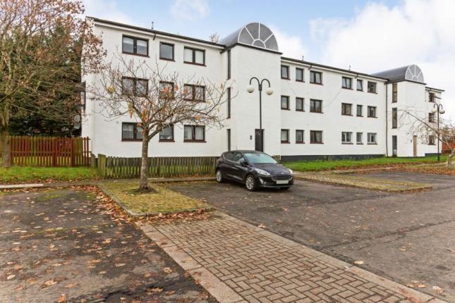 Exterior of Fiddoch Court, Newmains, Wishaw, North Lanarkshire ML2