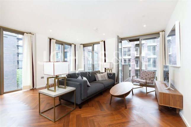 Thumbnail Terraced house to rent in Capital Building, Embassy Gardens