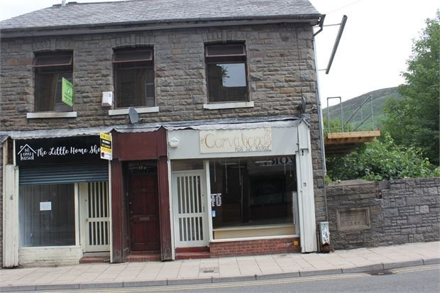 Thumbnail Commercial property for sale in De Winton Street, Tonypandy, Rhondda Cynon Taff.