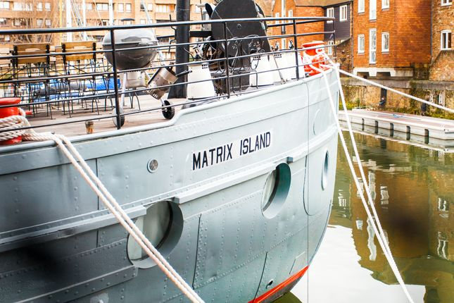 Thumbnail Houseboat for sale in St Katherine's, London