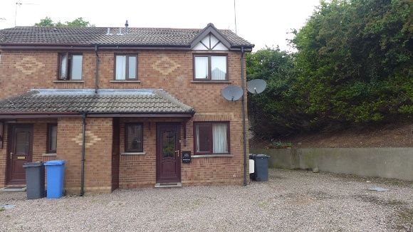 End terrace house to rent in Rosevale Meadows, Lisburn