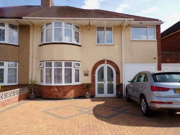 Thumbnail Semi-detached house for sale in Southfield Road, Duston, Northampton, Northamptonshire