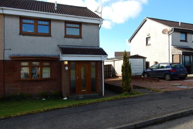 Thumbnail Detached house to rent in Castle View, Newmains, Wishaw
