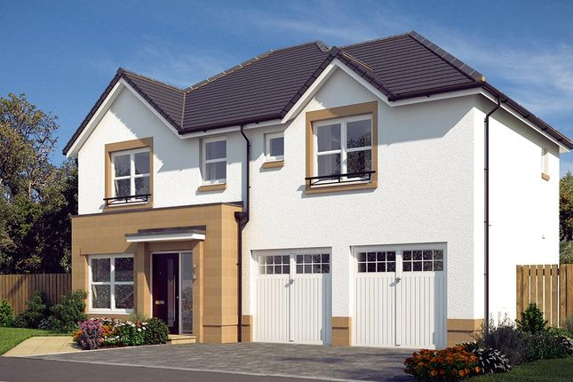 "Thumbnail Detached house for sale in ""The Westbury"" at Edinburgh Road, Newhouse, Motherwell"