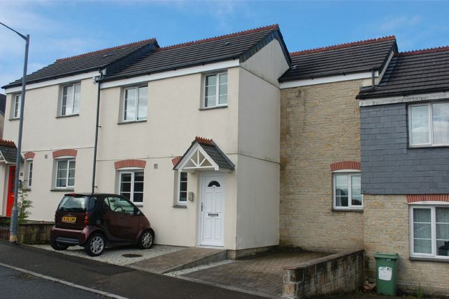Thumbnail Terraced house for sale in Penwithick Park, Penwithick, St Austell, Cornwall