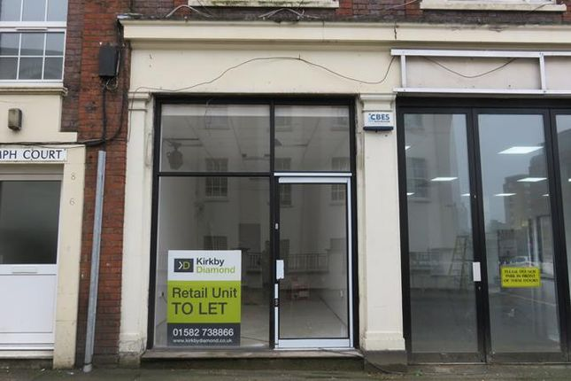 Thumbnail Retail premises to let in Cafe At Triumph Court, Union Street, Luton