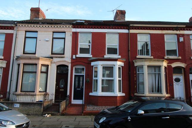 Thumbnail Terraced House To Rent In Errol Street Aigburth