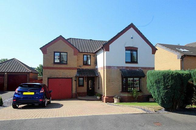 Thumbnail Detached house for sale in Clos Cadwgan, Beddau, Pontypridd, Rhondda, Cynon, Taff.