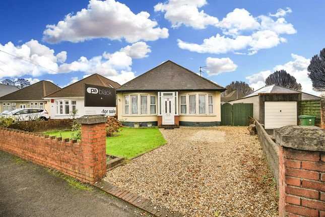 Thumbnail Detached bungalow for sale in Heol Cattwg, Whitchurch, Cardiff