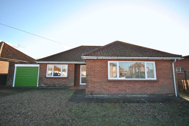 Thumbnail Bungalow for sale in Heath Crescent, Hellesdon, Norwich