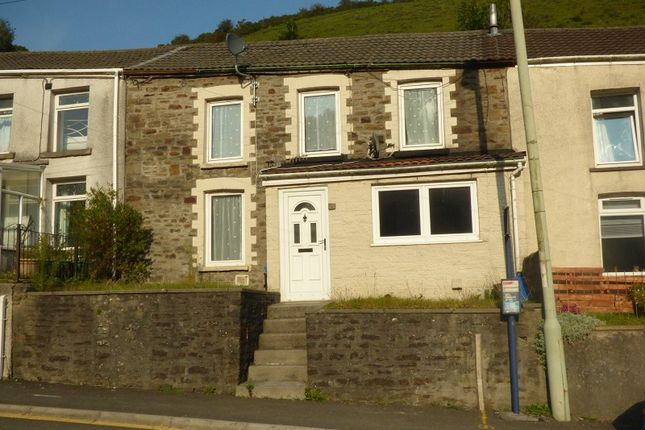3 bed terraced house to rent in Cuckoo Street, Pantygog, Bridgend . CF32