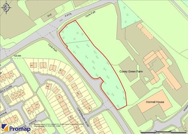 Thumbnail Land for sale in Plot A Coney Green Road, Clay Cross, Chesterfield