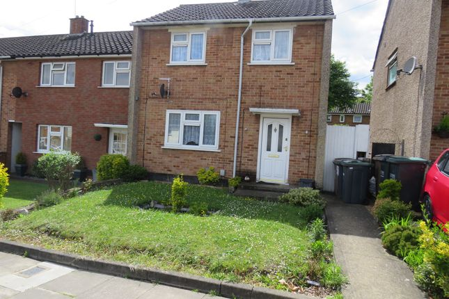 Thumbnail End terrace house for sale in Tomlinson Avenue, Luton