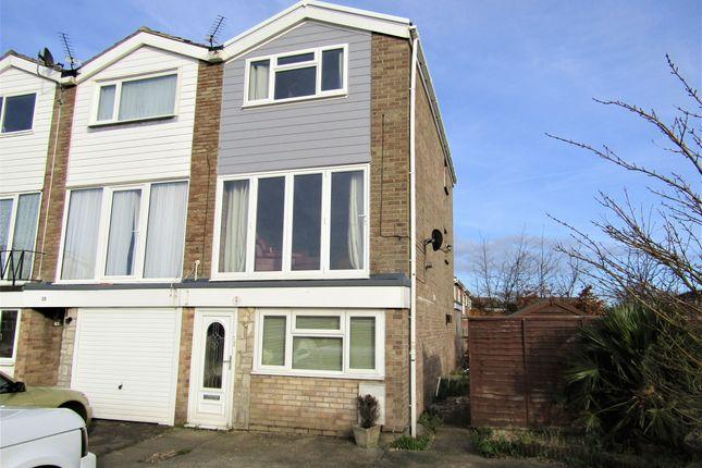 Thumbnail Town house to rent in Churcher Close, Gosport