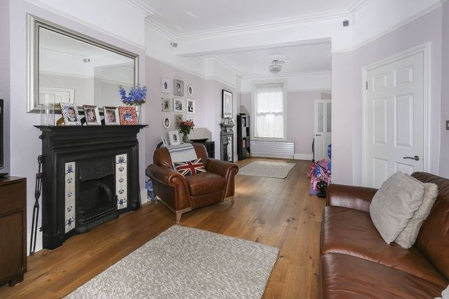 Thumbnail End terrace house for sale in Coleridge Road, London