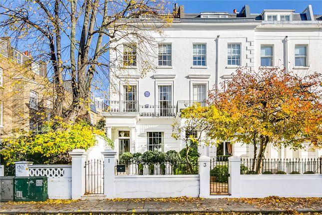 Thumbnail End terrace house to rent in Drayton Gardens, London