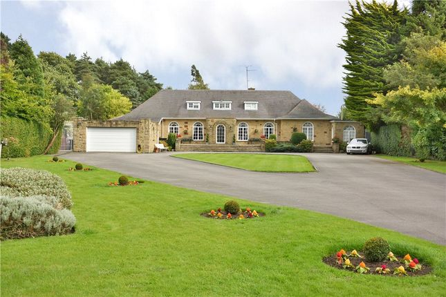 Thumbnail Detached house for sale in The Croft, Harrogate Road, Alwoodley, Leeds