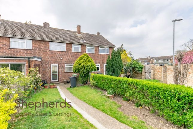 Thumbnail Terraced house for sale in Rowlands Close, Cheshunt, Hertfordshire