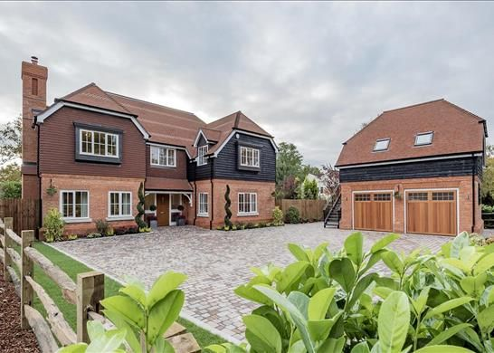 Thumbnail Detached house for sale in Damask, Chobham, Woking