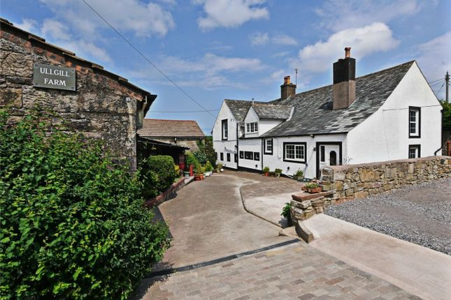 Thumbnail Detached house for sale in Ullgill Farm, Howgate, Whitehaven, Cumbria
