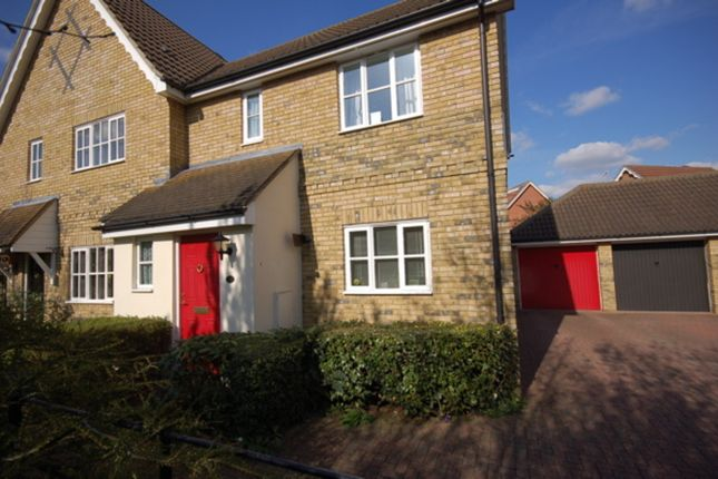 2 bed semi-detached house to rent in Framlingham Way, Great Notley, Braintree