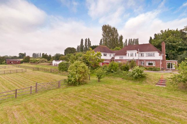 Thumbnail Farmhouse for sale in With Land, Paddocks And Annexe, East Farleigh