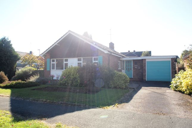 Thumbnail Detached bungalow for sale in Springfield Crescent, Kibworth, Leicester