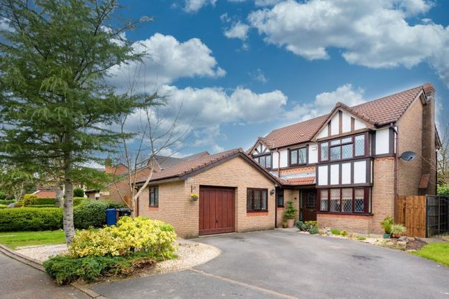 Thumbnail Detached house for sale in Leafy Close, Leyland