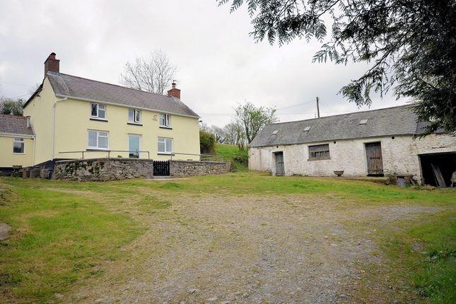 Thumbnail Land for sale in Tir Walter, Abergorlech Road, Brechfa, Carmarthen, Carmarthenshire.