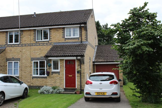 Thumbnail End terrace house for sale in Granta Leys, Linton, Cambridge