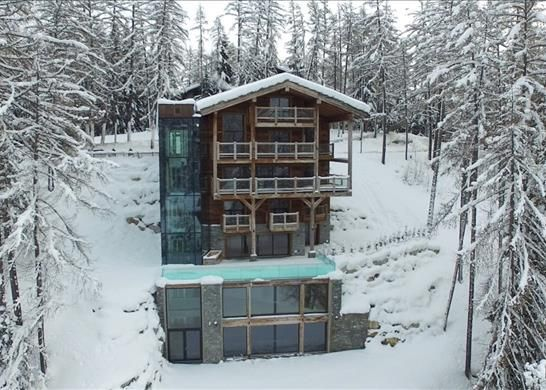 Detached house for sale in Rue Centrale 19, 3963 Crans-Montana, Switzerland