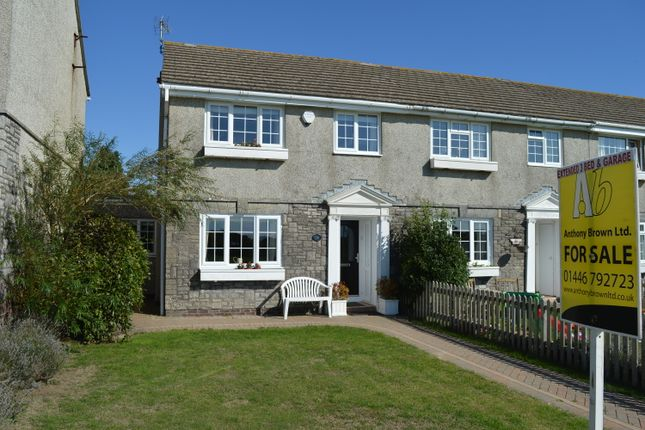 Thumbnail End terrace house for sale in Tewdrig Close, Llantwit Major