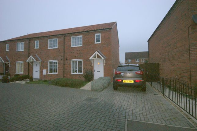 Thumbnail Semi-detached house to rent in Nile Drive, Spalding