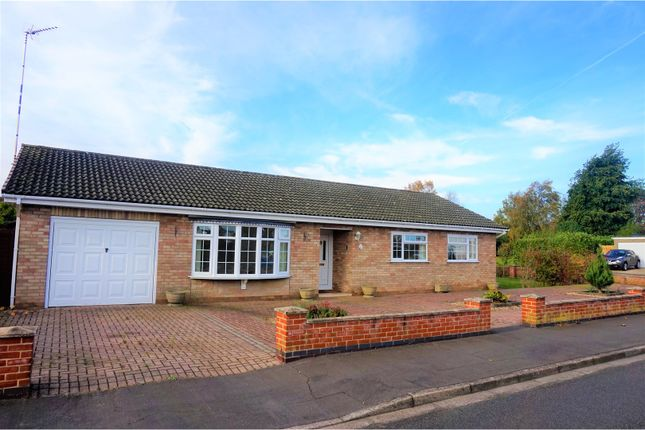 Thumbnail Detached bungalow for sale in Clinton Drive, Sleaford