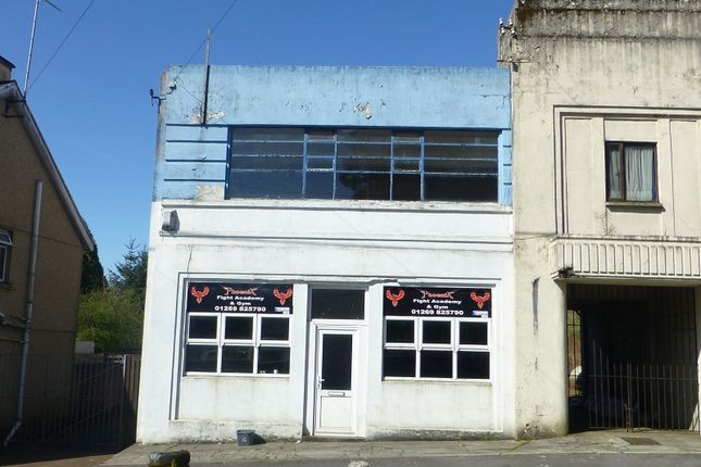Thumbnail Commercial property for sale in Station Road, Upper Brynamman, Ammanford, Carmarthenshire.