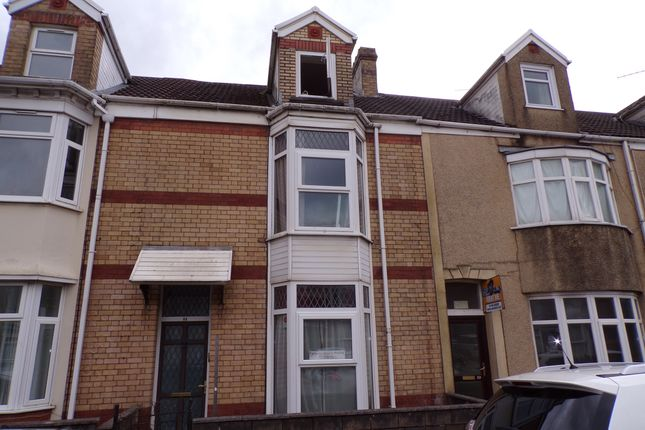 Thumbnail Terraced house to rent in St Helen's Road, Swansea