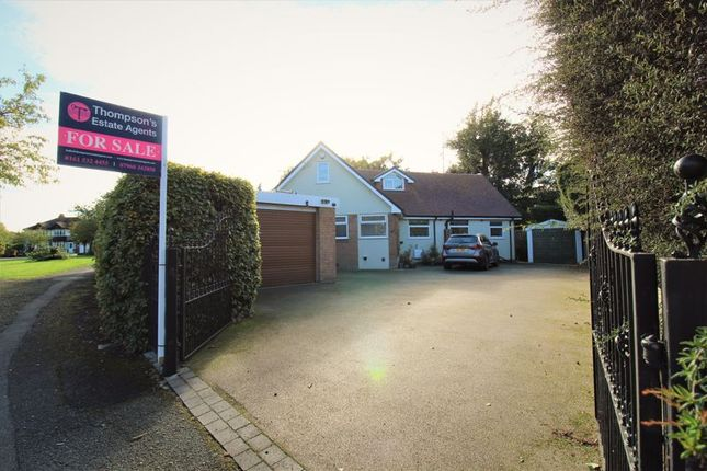 Thumbnail Detached bungalow for sale in Woodlands Parkway, Timperley, Altrincham