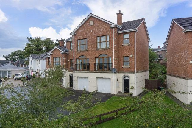 Thumbnail Town house for sale in Linen Green, Lisburn