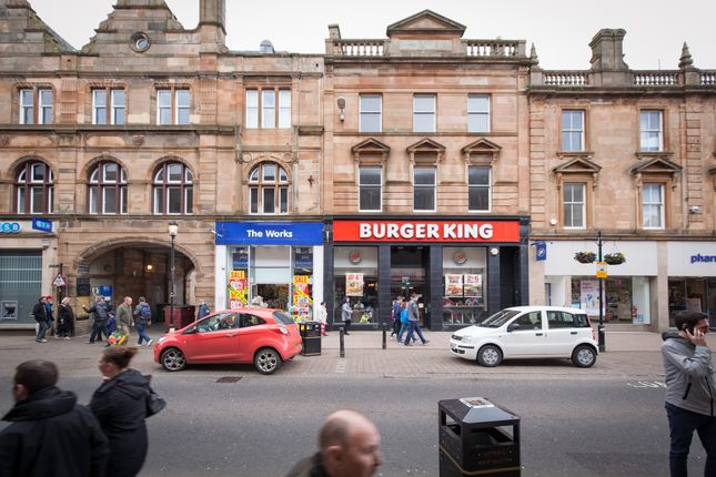 Thumbnail Retail premises for sale in High Street, Ayr