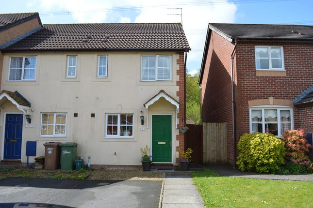 Thumbnail End terrace house to rent in 4 Nant Twyn Harris, Forge Mill, Ystrad Mynach