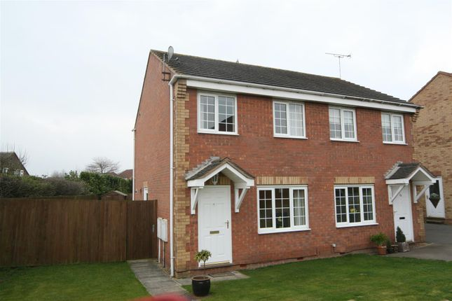 Thumbnail Semi-detached house to rent in Irwell Close, Oakham