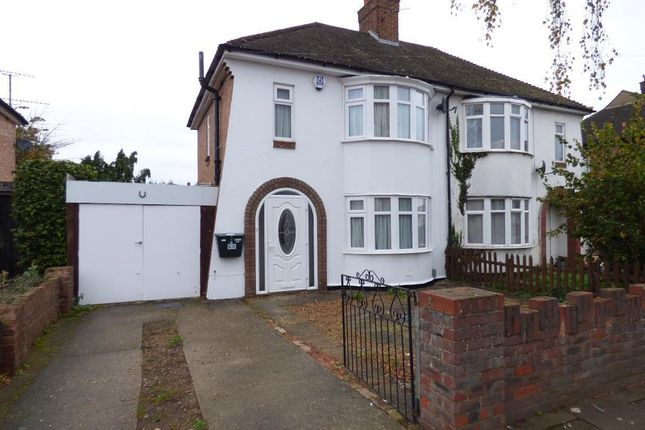 Thumbnail Semi-detached house for sale in Brackley Road, Bedford