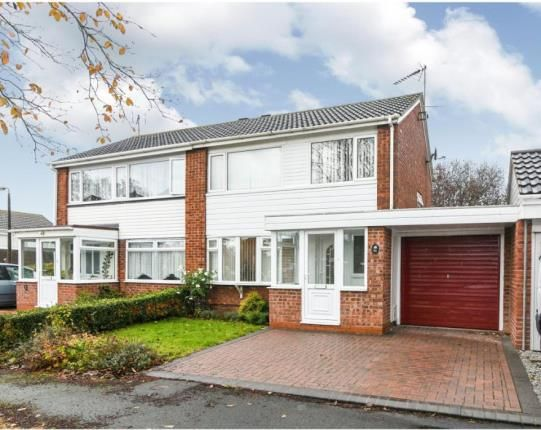 Thumbnail Semi-detached house for sale in Badger Close, Redditch, Worcestershire