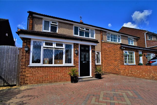 Thumbnail Semi-detached house for sale in Saxon Close, Northfleet, Gravesend