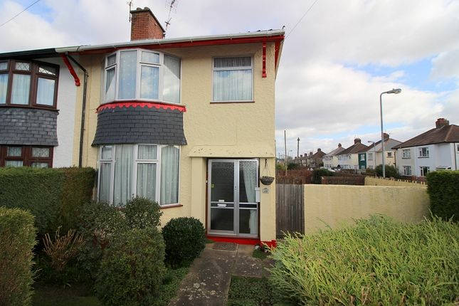 Thumbnail End terrace house for sale in Kingsland Road, Whitchurch, Cardiff.