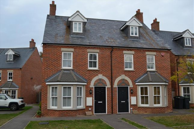 Thumbnail Semi-detached house for sale in Barn Field Close, Biggleswade