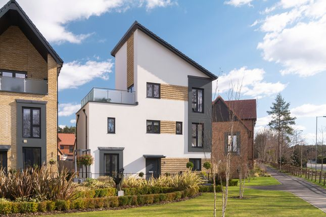 """Thumbnail Detached house for sale in """"Harlington"""" at Old Wokingham Road, Crowthorne"""